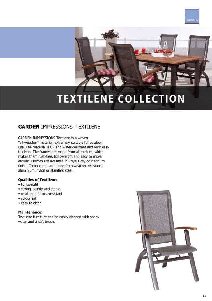 Garden Impressions Textilene muebles jardin