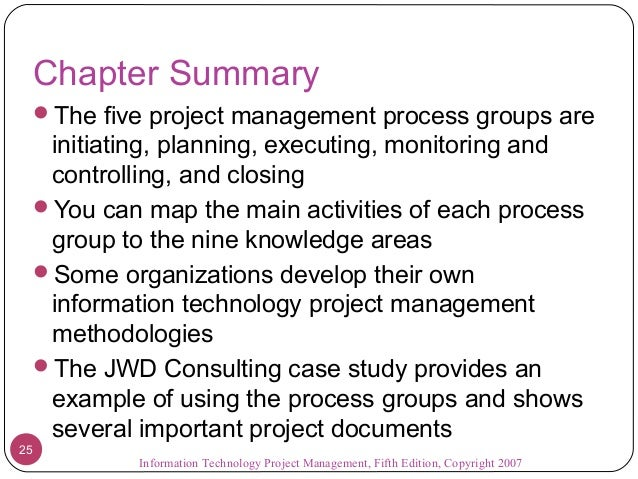 jwd consulting case study summary
