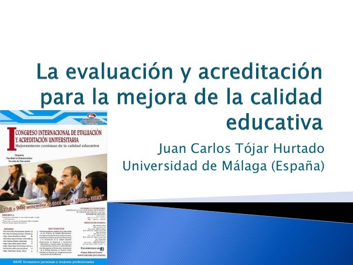 Juan Carlos Tójar HurtadoUniversidad de Málaga (España)