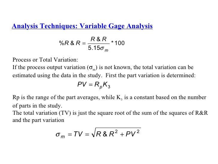 Example of Crossed Gage R&R Study - Minitab