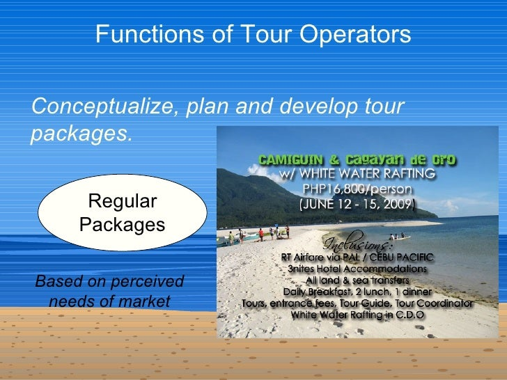 tourism and tour operator essay Advantages and disadvantages of direct selling: perspectives of both tourism operators and tourists home » essay » advantages and disadvantages of direct selling.