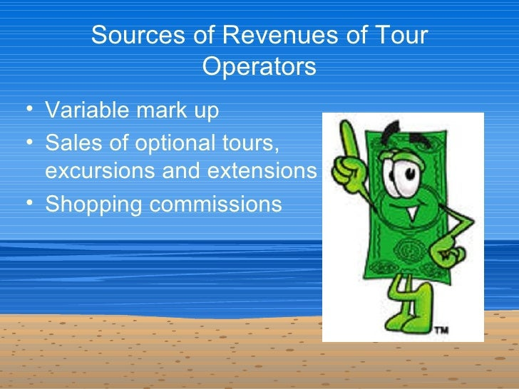tour operation This report shows the total market size for the tour operators industry, comprised of total revenues of both public and private companies over the last five years.