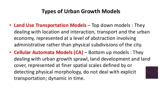 Urban Geography Models