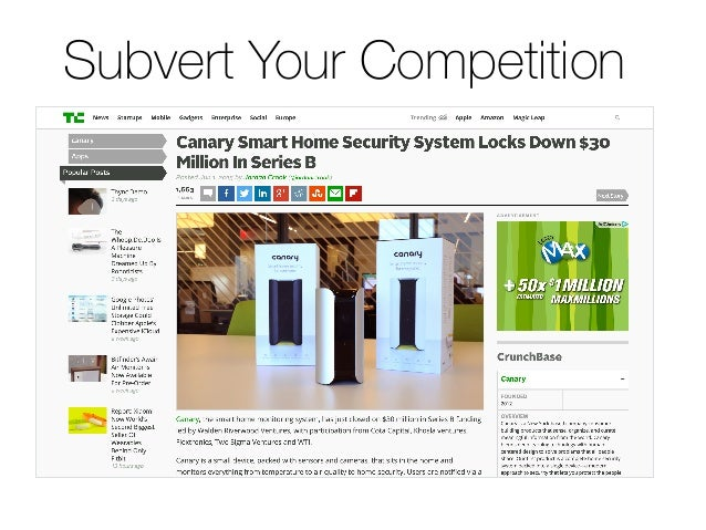 Subvert Your Competition