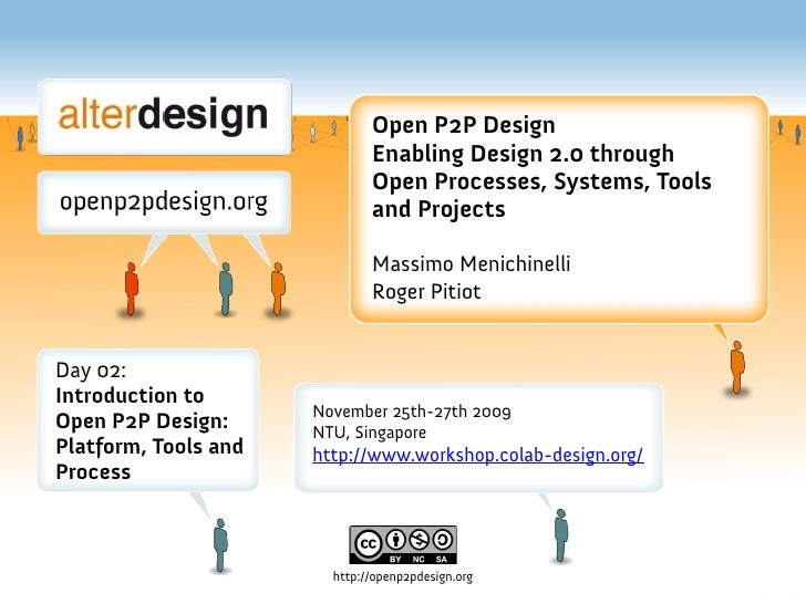 Open P2P Design                               Enabling Design 2.0 through                               Open Processes, Sy...