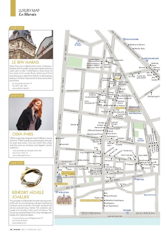 Where Paris n°253, février 2015, english edition e609358bdee