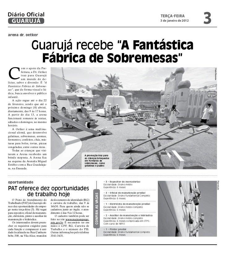 Diário Oficial de Guarujá - 03-01-12 Slide 3