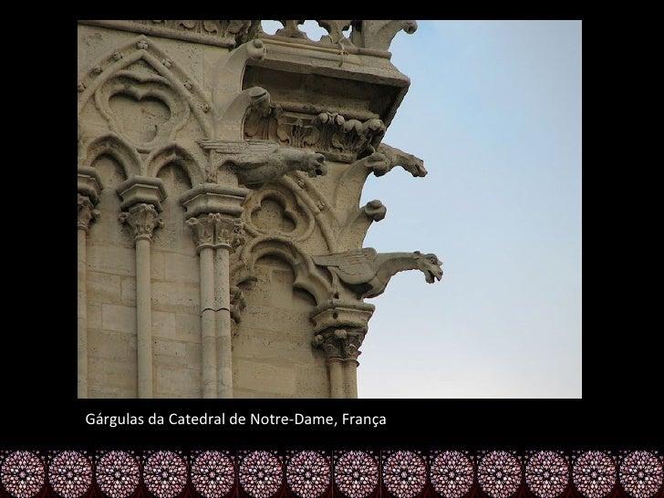 Gárgulas da Catedral de Notre-Dame, França
