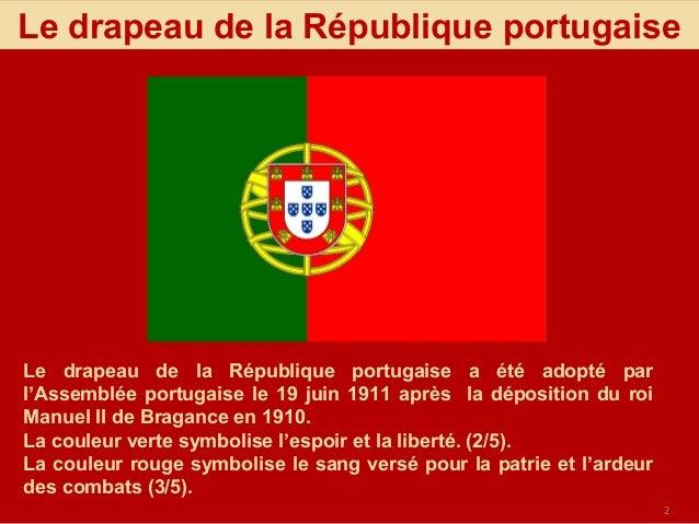 Le portugal en symboles for Que veut dire la couleur rouge