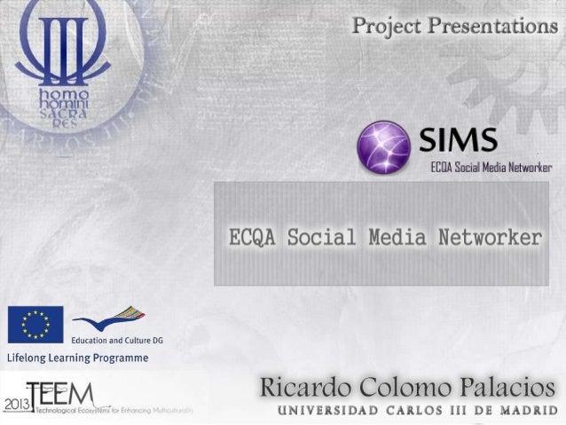 ECQA SOCIAL MEDIA NETWORKER