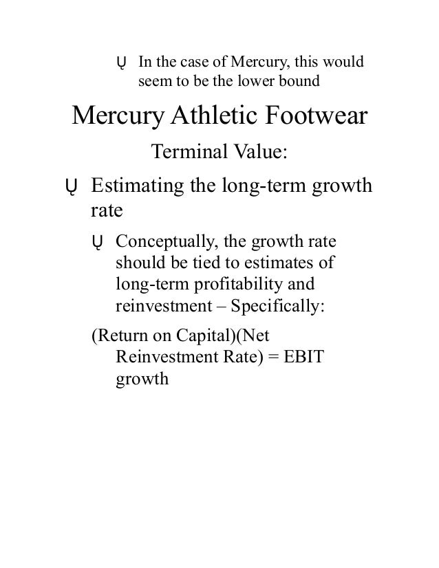 mercury athletic footwear case Essay russell athletic case 1 mercury athletic footwear case essay mercury athletic footwear group 7 contents executive summary & overview of problems 3.