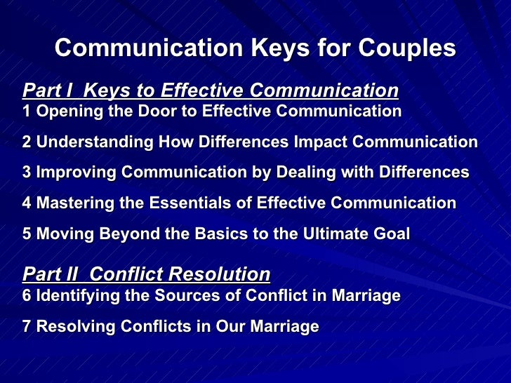 03 15 09 Course Schedule And Content Communication Keys For Couples Slide 2