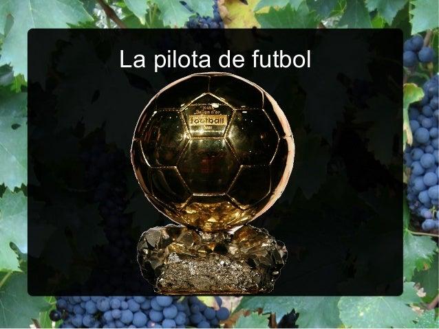La pilota de futbol