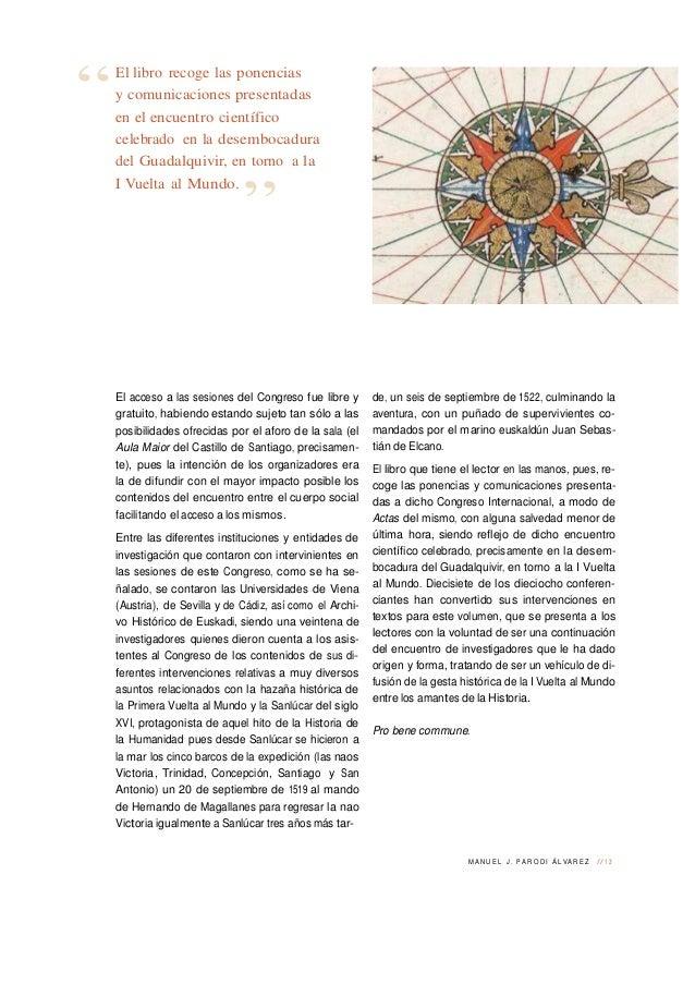 03. In Medio Orbe. Presentación. Manuel J. Parodi Slide 2