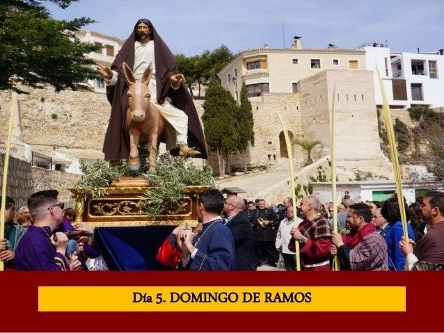 Día 5. DOMINGO DE RAMOS
