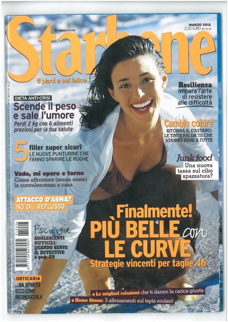 MyCli Press > Starbene, Marzo 2012, Mac Filler Dermal Plus
