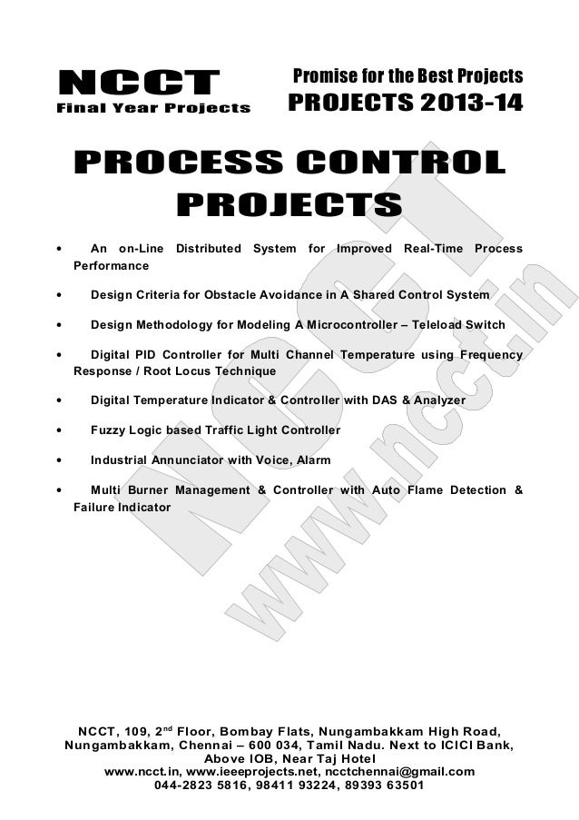 03 2013-14 embedded systems project list
