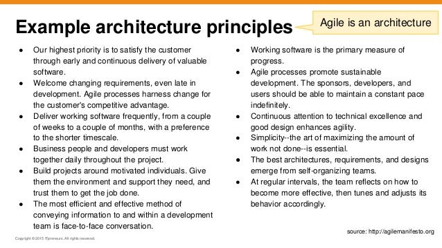 Will They Blend? - Agile, TOGAF and Enterprise Architecture