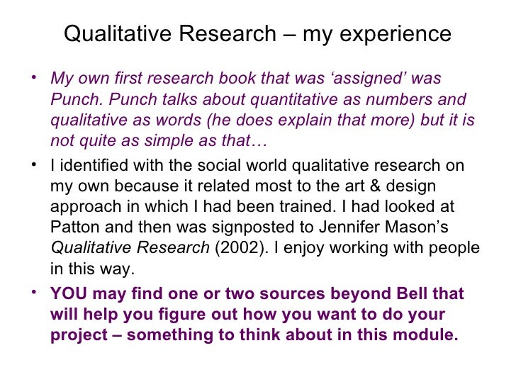 qualitative research final draft Qualitative research in healthcare,  turn in your first draft of the qualitative data collection methods  the final thematic analysis,.