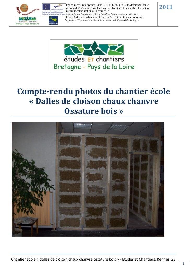 Projet Inater', n° de projet : 2009-1-FR1-LEO05-07415. Professionnaliser le                                personnel d'exé...
