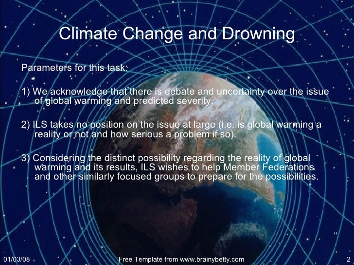 workshop climate change implications for drowning and lifesaving