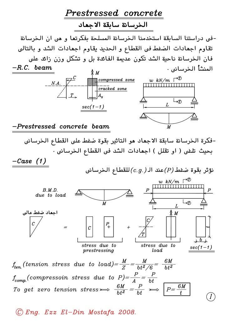 03  (4th civil) (prestressed concrete) determinate prestressed structures