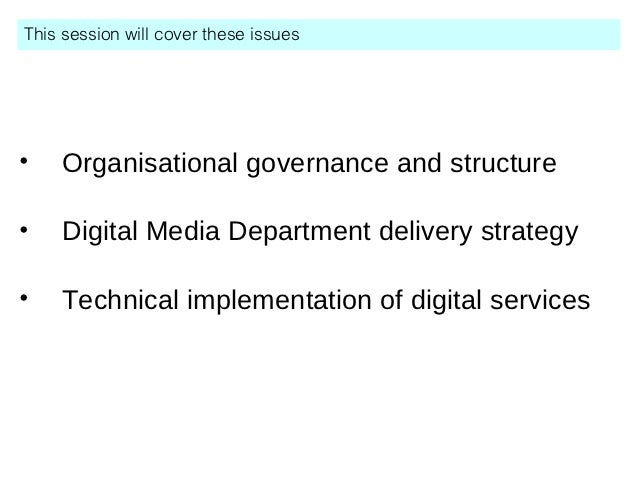 The realities of moving to digital first Slide 2