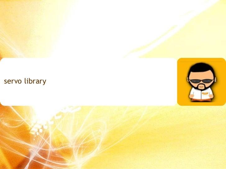 servo library