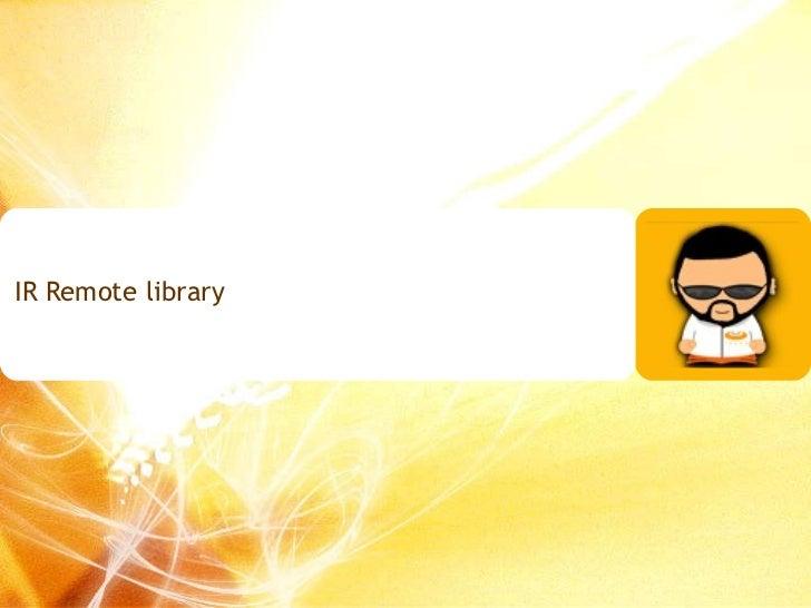 IR Remote library
