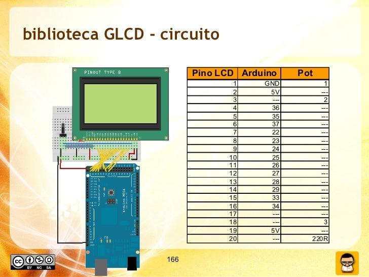 biblioteca GLCD - circuito