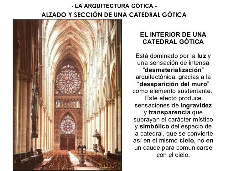 Arquitectura g tica for Arquitectura que se estudia