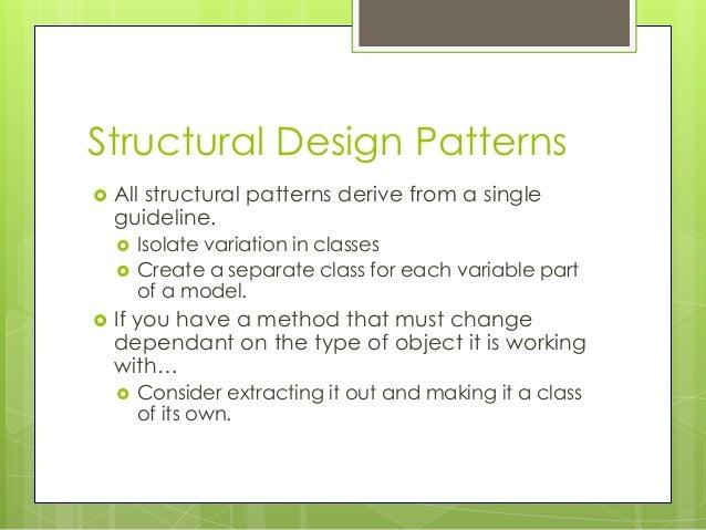 PATTERNS03 - Behavioural Design Patterns Slide 3