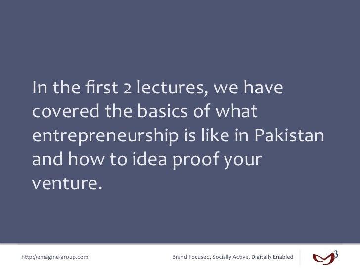 Lecture 3 - Business Model Slide 2