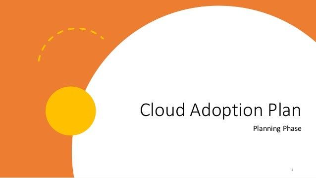 Cloud Adoption Plan Planning Phase 1