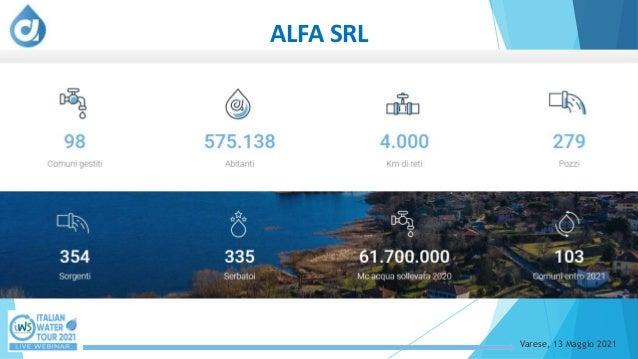 Alfa ad alta tecnologia: a Varese le falle nella rete idrica le prelocalizza il satellite Slide 2