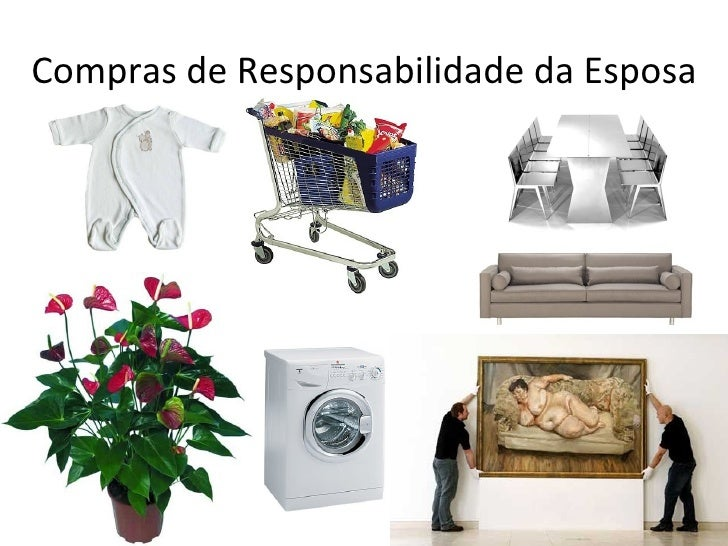 Compras de Responsabilidade da Esposa