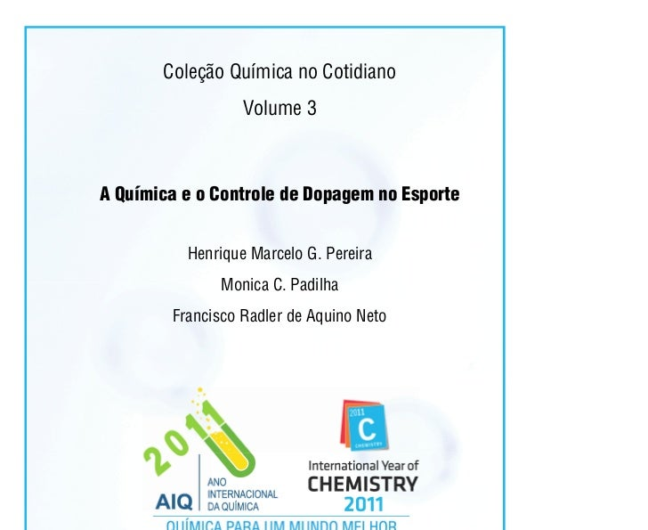 Coleção Química no Cotidiano                         Volume 3A Química e o Controle de Dopagem no Esporte           Henriq...