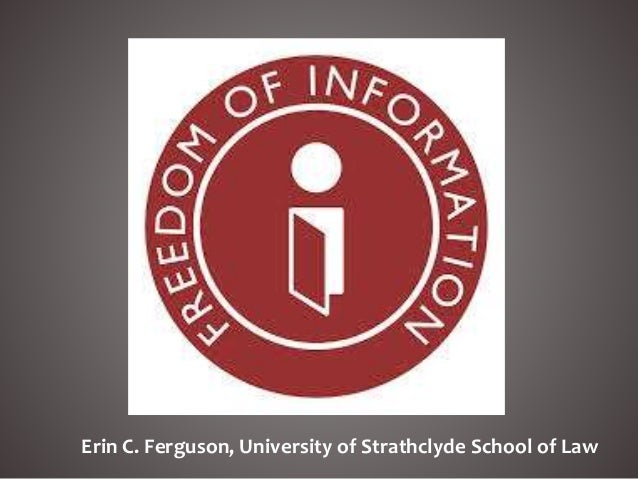 Erin C. Ferguson, University of Strathclyde School of Law