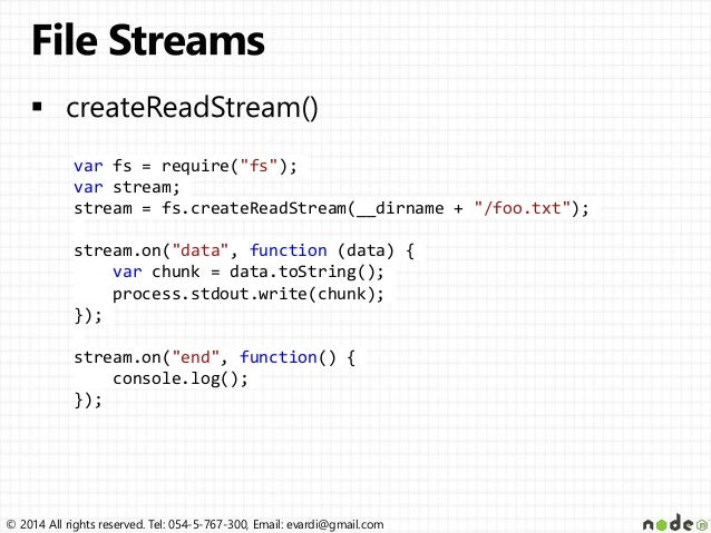 createreadstream node js