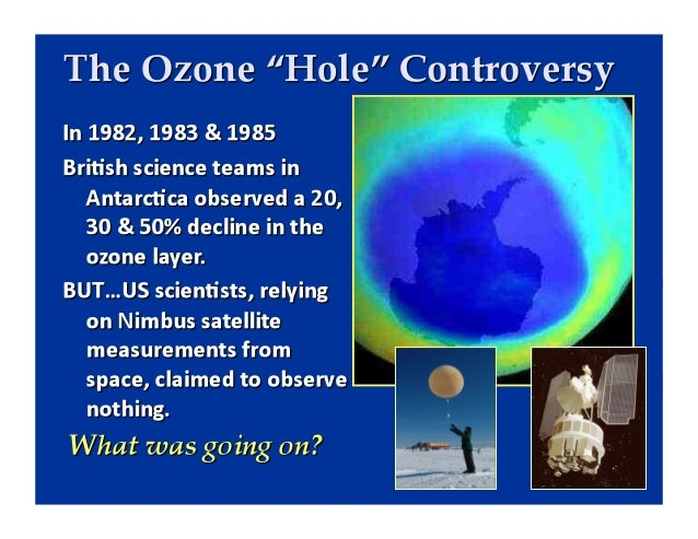The Ozone Layer and Climate Change