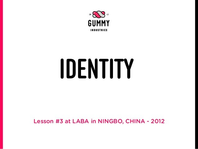 IDENTITYLesson #3 at LABA in NINGBO, CHINA - 2012