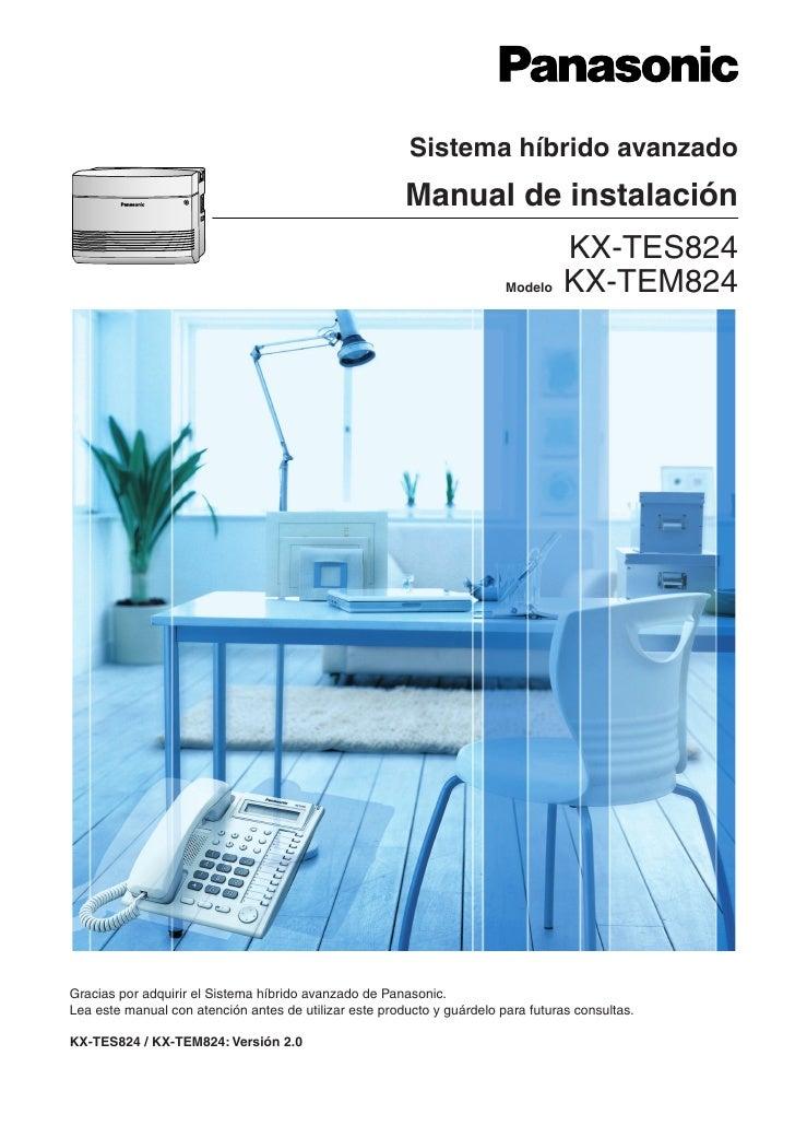 Sistema híbrido avanzado                                                        Manual de instalación                     ...