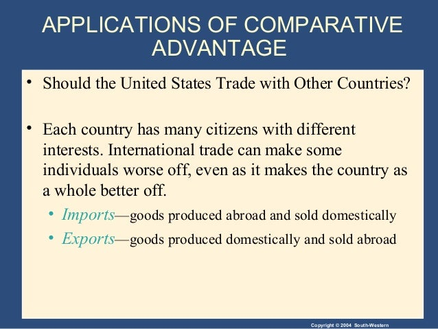 interdependence and the gains from trade Interdependence and the gains from trade interdependence and trade interdependence and trade how do we satisfy our wants and needs in a global economy interdependence and trade interdependence and trade why is interdependence the norm.