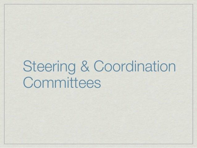 Steering & CoordinationCommitteesIVOA ExecutiveTechnica Coordination GroupStanding Committee on Standards & Processes