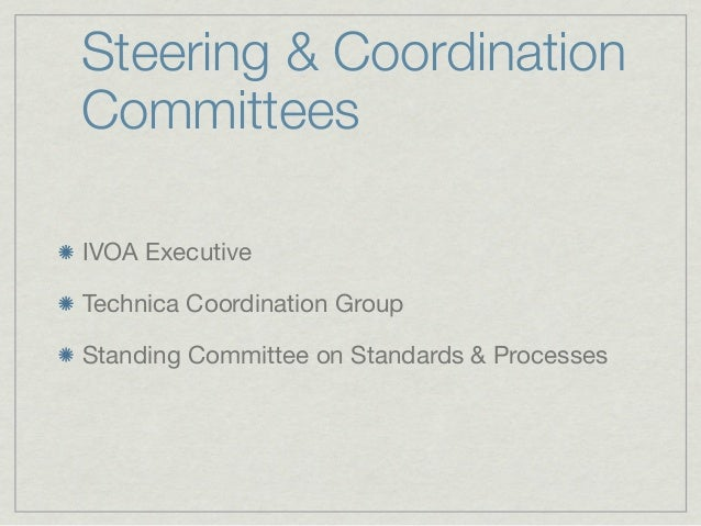 IVOA Document Process     Proposing Body        Document Status                              IAU Standard        IAU VO   ...