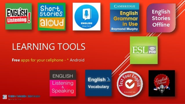 Autonomous Learning: Online Tools + Free cell Apps