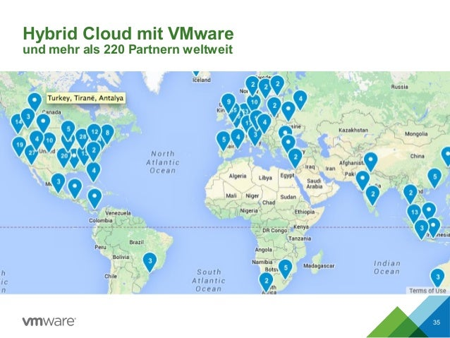 Hybrid Cloud mit VMware und mehr als 220 Partnern weltweit 35