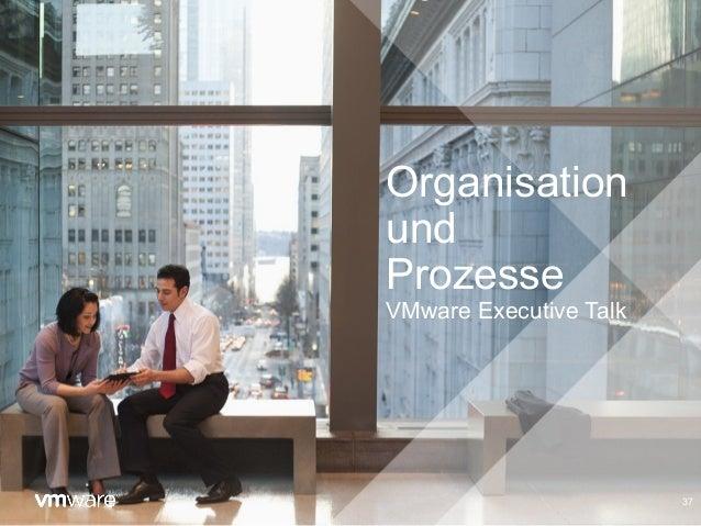 Organisation und Prozesse VMware Executive Talk 37