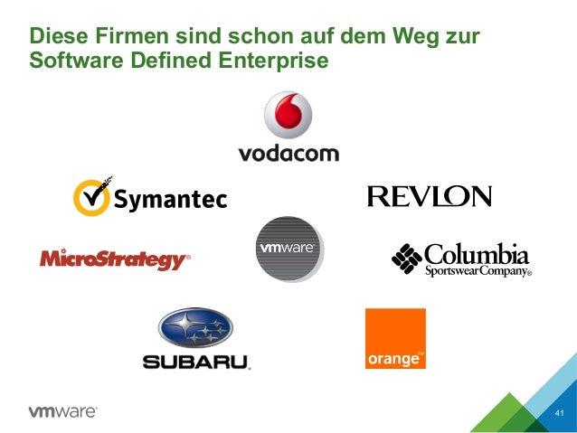 Diese Firmen sind schon auf dem Weg zur Software Defined Enterprise 41