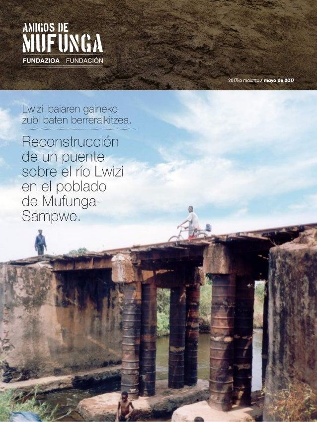 Informe Anual: Proyecto Puente (2017)